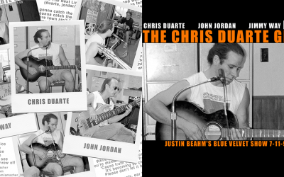 Chris Duarte CD Cover