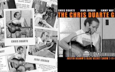 Chris Duarte CD Cover