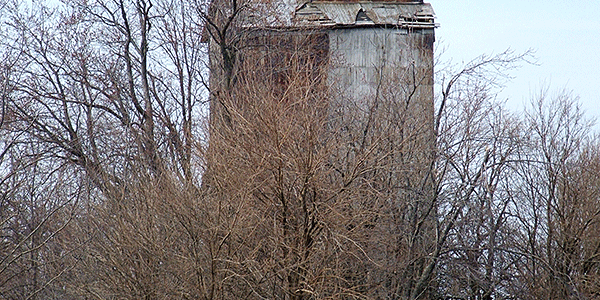 Empire Elevator near LeRoy, can be seen from Rt. 150.