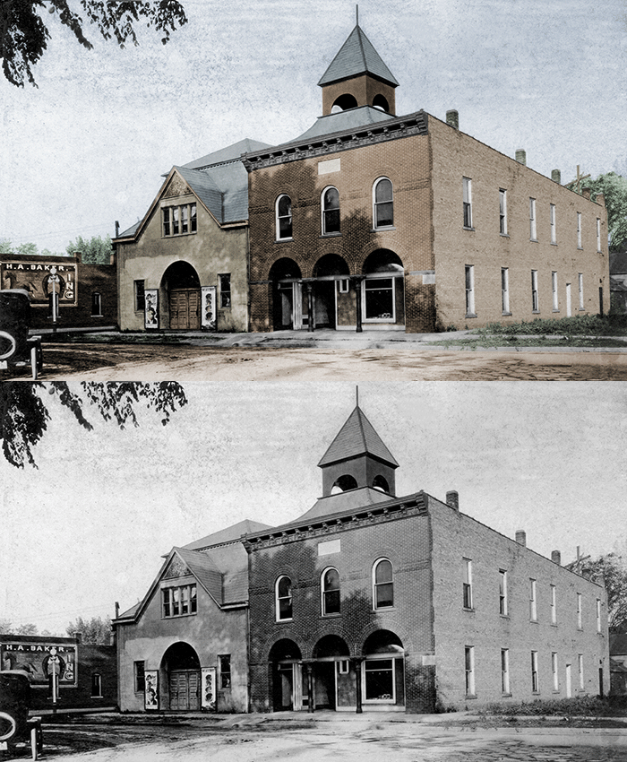 Colorized photo in Photoshop