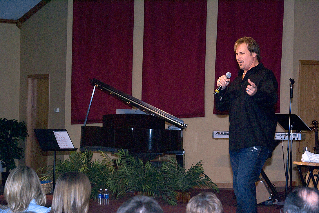 Michael English at Trinity Community Fellowship.