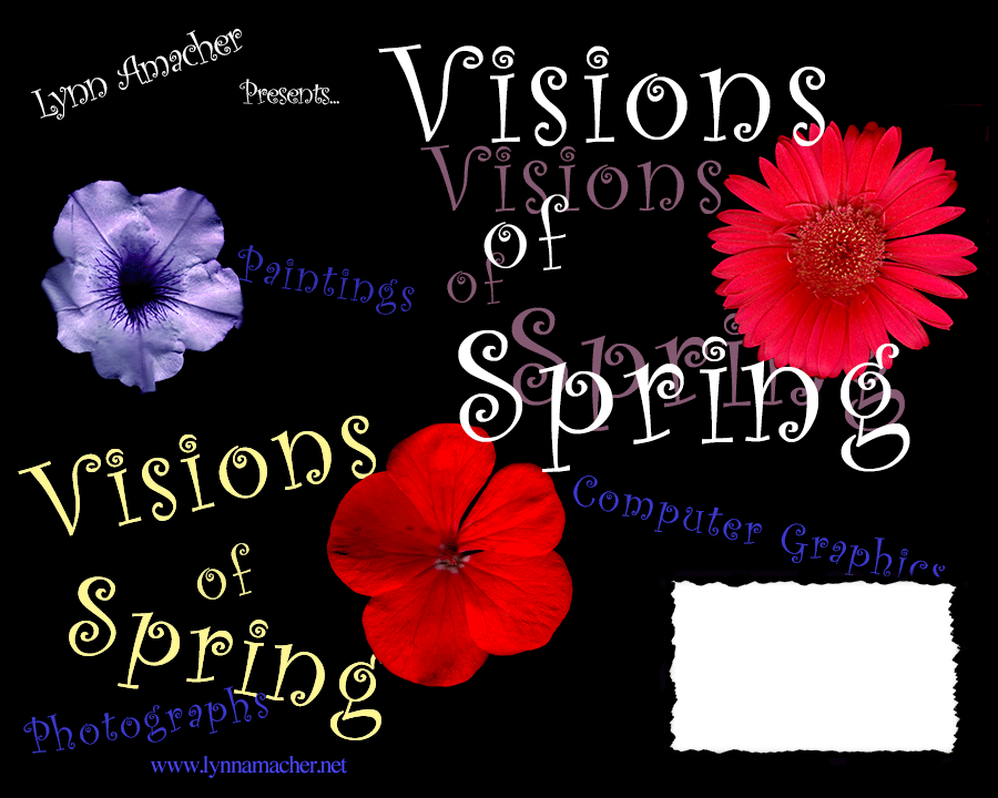Poster for the Flower show at Anita Purves Natural center in Urbana, IL