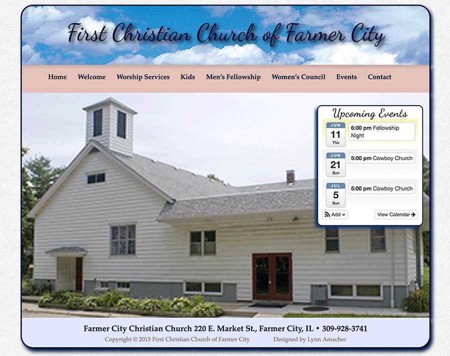 Farmer City Christian Church Home page
