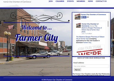 Farmer City Chamber of Commerce home page