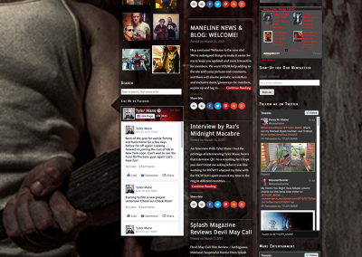 Tyler Mane home page