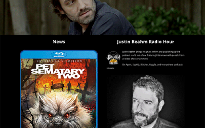 Case Study Justin Beahm's Website Redesign