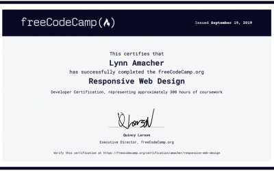 Responsive Web Design Certification