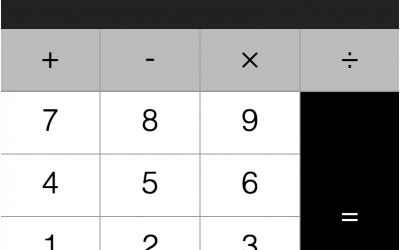 Super simple calculator in JavaScript